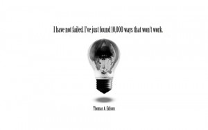 Berpikir Positif Ala Thomas Alfa Edison