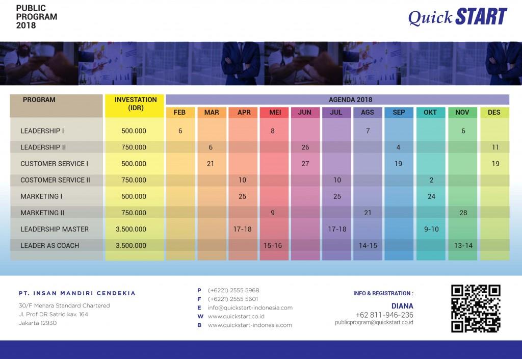 QuickSTART PP 2018 Agenda