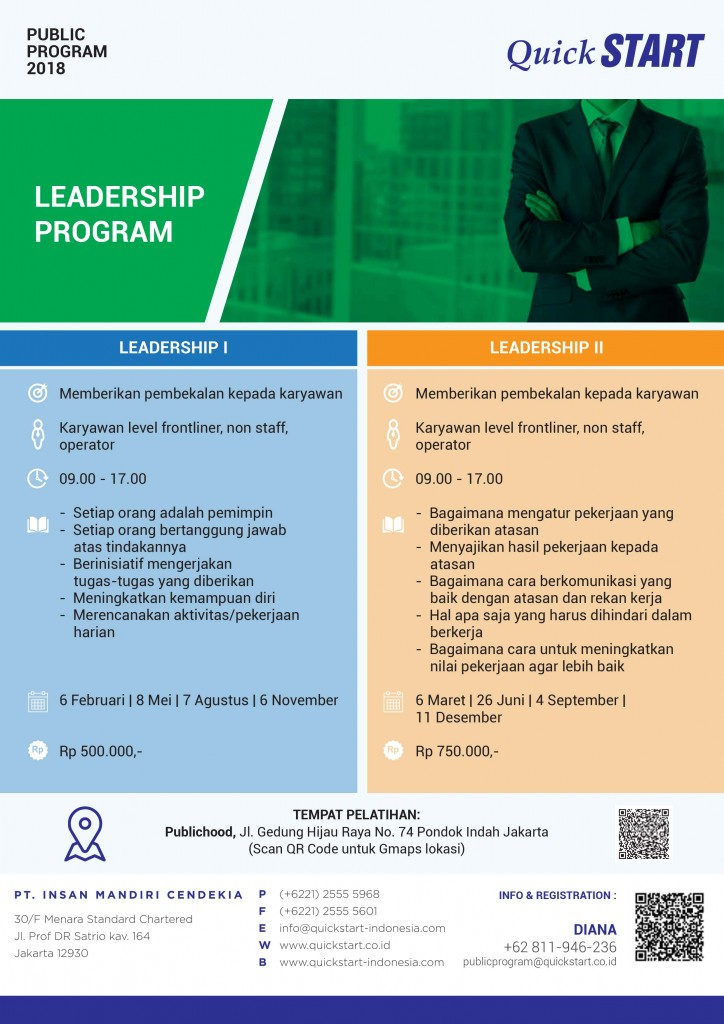 QuickSTART PP 2018 - Leadership