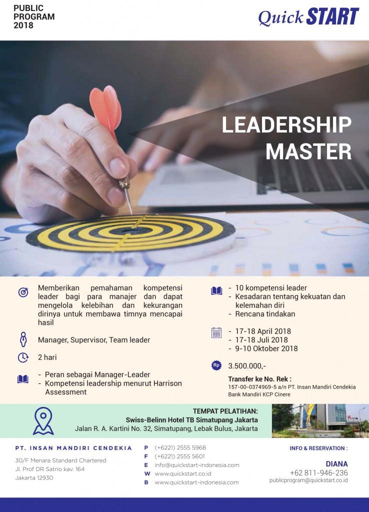QuickSTART PP 2018 - Leadership Master2